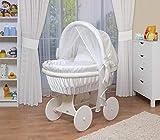 WALDIN Baby Stubenwagen-Set mit toller Ausstattung