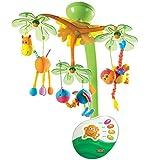 Tiny Love Baby-Mobile, hochwertiges 2-in-1 Musik-Mobile mit 4 wundervollen Melodien und 20 Min. Spieldauer, auch als tragbare Musik-Box nutzbar, Baby-Spieluhr ab der Geburt (0M+), Sweet Island Dreams