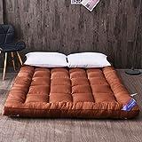 LQ&XL Futon Matratze Schlafen Mat,Gesteppter Weich Hypoallergen Tatami Matratze Futon Bett Sehr dick Traditionelle japanische Matratze Student wohnheim mat,C,90x200cm