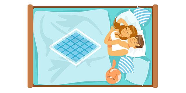 mit dem partner schlafen