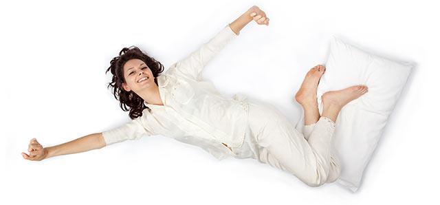 schlafen bei hohen temperaturen
