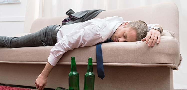 alkohol schlafen
