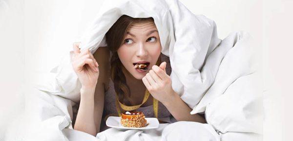 schlafen vor dem essen
