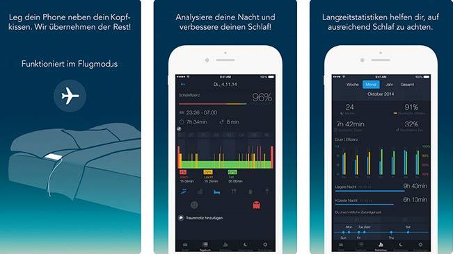 runtastic schlaf app kostenlos