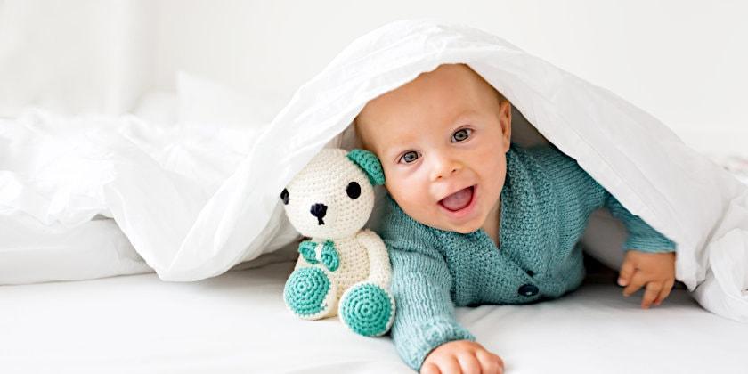 kuscheldecke mit sternen für babys