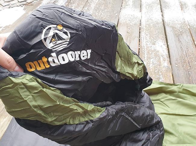 schlafsack von outdoorer im test