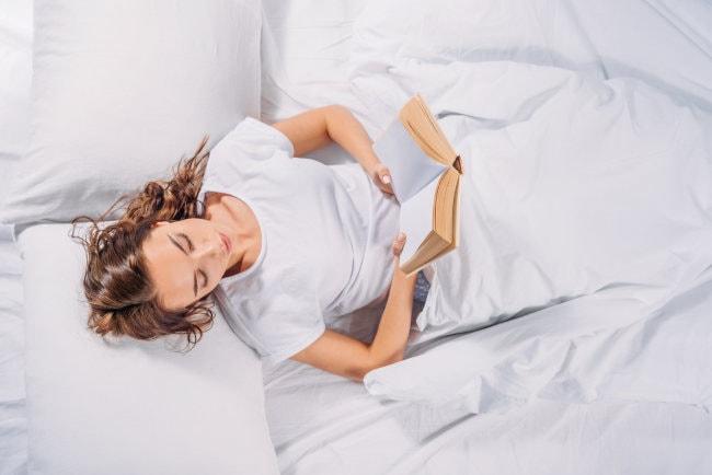 Lesekissen für Lesen im Bett