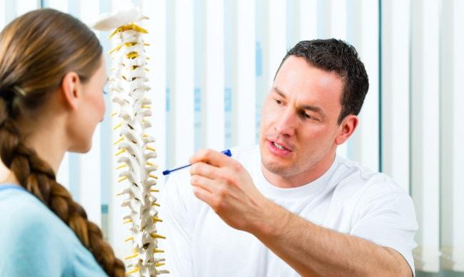 Rückenschmerzen Wärmegürtel oder Arzt