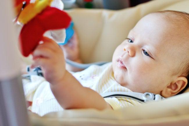 baby wippe von ingenuity